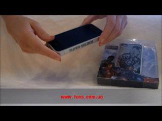 Чехол Щит Капитана Америки серия Мстители для iPhone 4 Обзор